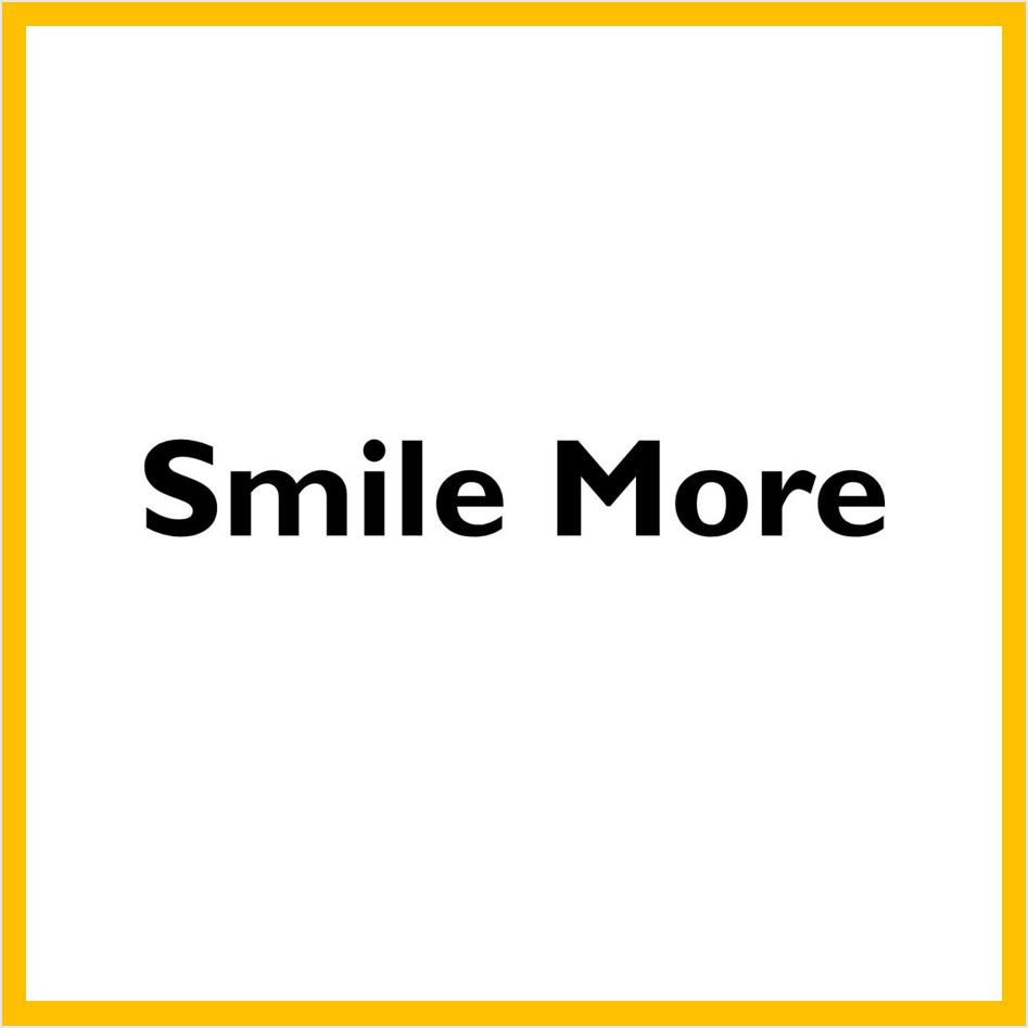 Smile more - math pop